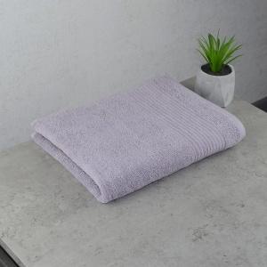 Махровое полотенце  для лица GM Textile 50х90см Line 450г/м2 (Пепельный)