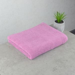 Махровое полотенце  для лица GM Textile 50х90см Line 450г/м2 (Пудровый)