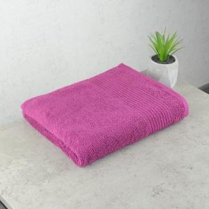 Махровое полотенце  для лица GM Textile 50х90см Line 450г/м2 (Вишневый)