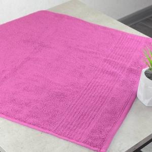 Комплект махровых полотенец 3шт GM Textile 50х90см, 50х90см, 70х140см Line 450г/м2 (Вишневый)