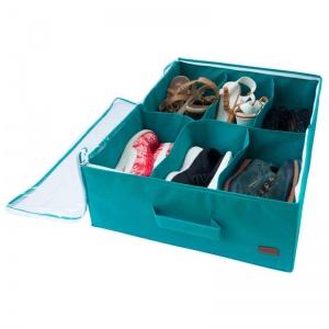 Органайзер для хранения обуви на 6 пар Lzr-O-6 (Лазурь)