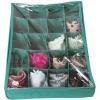 Коробка для трусов с крышкой на 20 ячеек (Лазурь)