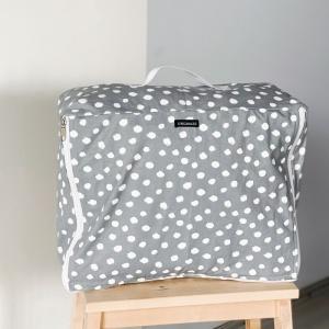 Хлопковая сумка для хранения вещей 30х27х12 см лео