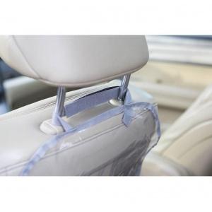 Комплект - Защита на спинку сиденья и сидушку в машину NAF-Grey (серый)