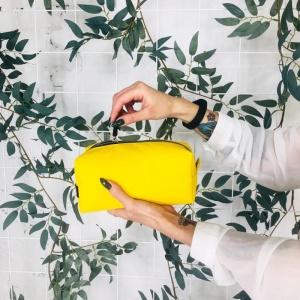 Большая косметичка K019-yellow (желтый)
