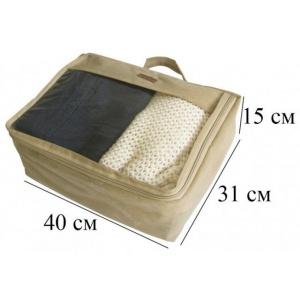 Большая дорожная сумка для перевозки вещей P001-beige (Бежевый)