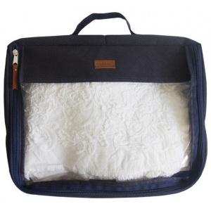 Большая дорожная сумка для перевозки вещей P001-blue (Синий)