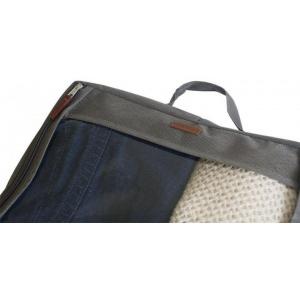 Большая дорожная сумка для перевозки вещей P001-grey (Серый)