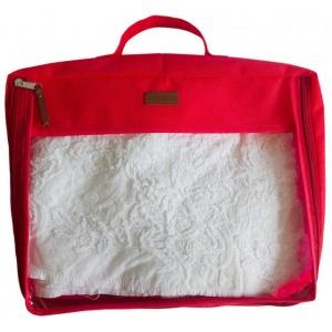 Большая дорожная сумка для перевозки вещей P001-red (Красный)