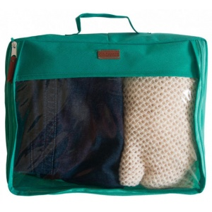 Большая дорожная сумка для перевозки вещей P001-sky-blue (Лазурь)