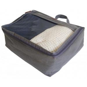 Средняя дорожная сумка для перевозки вещей P002-grey (серый)