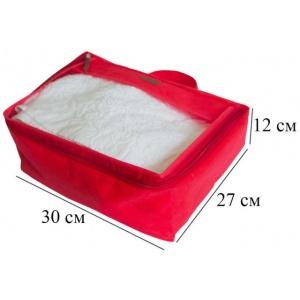 Средняя дорожная сумка для перевозки вещей P002-red (Красный)
