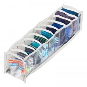 Прозрачный органайзер для трусиков и носков 10 ячеек XS Pvh-xs-white (Белый)