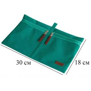 Набор дорожных сумок в чемодан 5 шт P005-lazur (Лазурь)