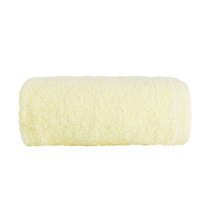 Махровое полотенце GM Textile 70х140см 400г/м2 (Молочный)