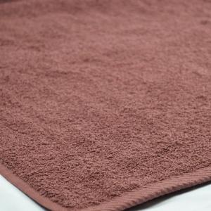 Банное махровое полотенце GM Textile 100х150см 400г/м2 (Коричневый)
