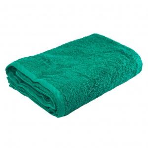 Банное махровое полотенце GM Textile 100х150см 400г/м2 (Зеленый)