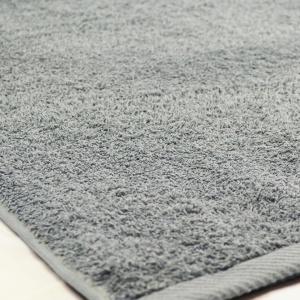 Банное махровое полотенце GM Textile 100х150см 400г/м2 (Серый)