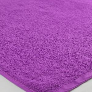 Банное махровое полотенце GM Textile 100х150см 400г/м2 (Сиреневый)