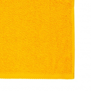 Махровое полотенце GM Textile 30х50см 400г/м2 (Желтый)
