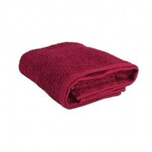Махровое полотенце GM Textile 50х90см 400г/м2 (Бордовый)