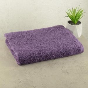Махровое полотенце GM Textile 50х90см 400г/м2 (Виноградный)