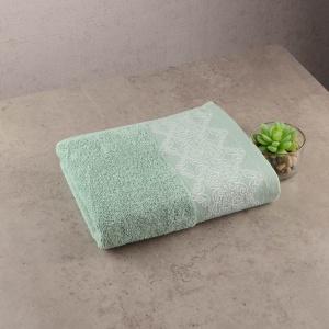 Махровое полотенце GM Textile 40х70см Grek 450г/м2 (Мятный)
