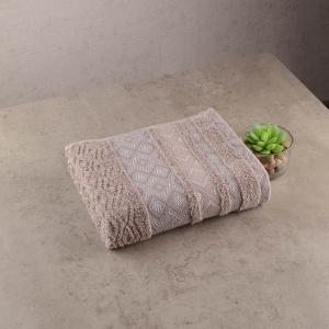 Махровое полотенце GM Textile 40х70см Grek 450г/м2 (Пепельный)