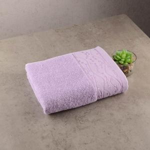 Махровое полотенце GM Textile 40х70см Grek 450г/м2 (Сиреневый)