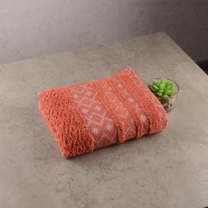 Махровое полотенце GM Textile 40х70см Grek 450г/м2 (Терракотовый)