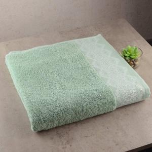 Набор махровых полотенец 3шт GM Textile 40x70см, 50x90см, 70x140см Grek 450г/м2 (Мятный)