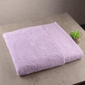 Набор махровых полотенец 3шт GM Textile 40x70см, 50x90см, 70x140см Grek 450г/м2 (Сиреневый)