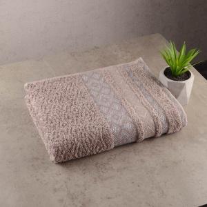 Набор махровых полотенец 3шт GM Textile 50х90см, 50х90см, 70х140см Grek 450г/м2 (Пепельный)
