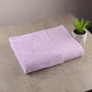 Набор махровых полотенец 3шт GM Textile 50х90см, 50х90см, 70х140см Grek 450г/м2 (Сиреневый)
