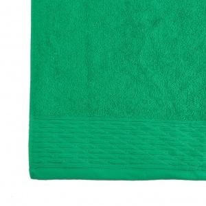 Детское махровое полотенце для рук и лица GM Textile 40х70см Polosa 500г/м2 (Зеленый)