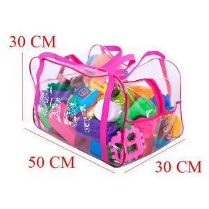 Сумка в роддом для игрушек K005-rose Розовый