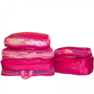 Набор 5 шт сумки дорожные органайзеры C002-rose (Розовый)