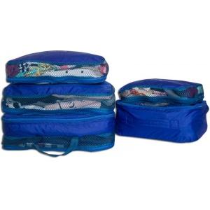 Сумки-органайзеры 5 шт для вещей в чемодан C002-siniy (Синий)