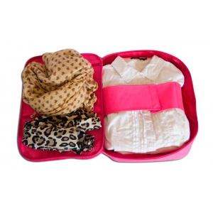 Органайзер для рубашек на 3шт для путешествий C020-rose (Розовый)