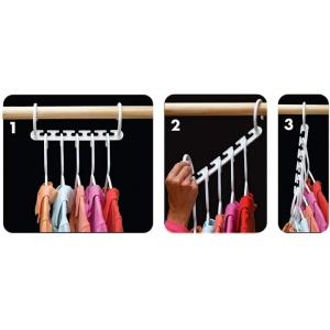 Вешалки для одежды 8в1 Wonder hanger V2590
