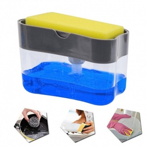 Дозатор Мыла Soap Pump Sponge Caddy