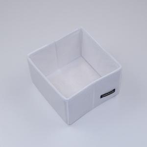 Коробочка для дрібниць 15х15х10 см (Білий)