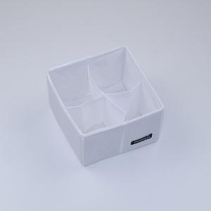 Органайзер для дрібниць 15х15х10 см (Білий)