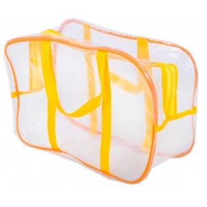 Компактная сумка в роддом/для игрушек K005-1-yellow (Желтый)